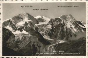 Arolla VS Col de Zarmine / Arolla /Bz. Herens