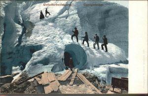 Eigergletscher Gletscherbergsteiger Kat. Eigergletscher