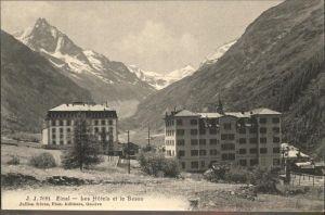 Zinal Rhone Les Hotels Besso Kat. Zinal