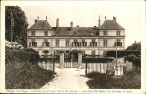 Coppet Chateau Residence Madame Stael Kat. Coppet