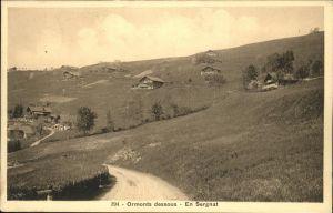 Ormont-Dessus Sergnat / Les Diablerets /Bz. Aigle