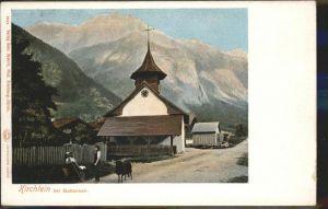 Guttannen Kirche Schaf Kat. Guttannen