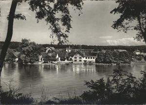 Ellikon Rhein Gasthaus z. Schiff Kat. Ellikon Rhein