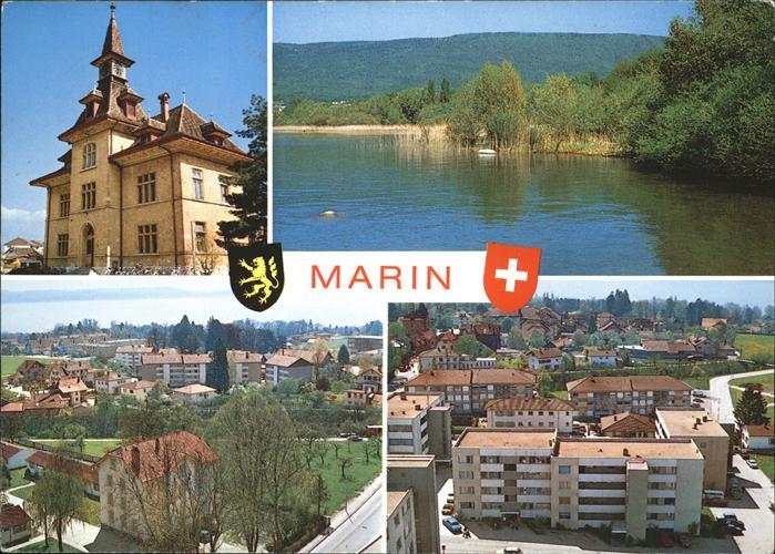 Marin-Centre Stadtwappen Kat. Marin-Centre