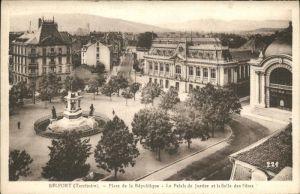 Belfort Belfort Place Republique Palais Justice Salle des Fetes Kat. Belfort