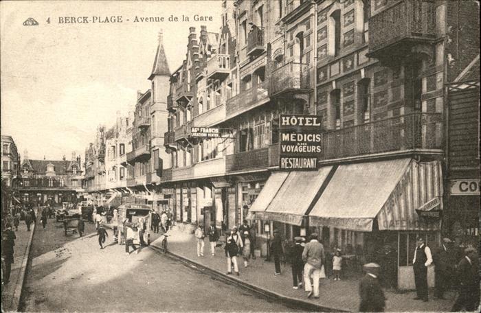 Berck-Plage Avenue de la Gare / Berck /Arrond. de Montreuil