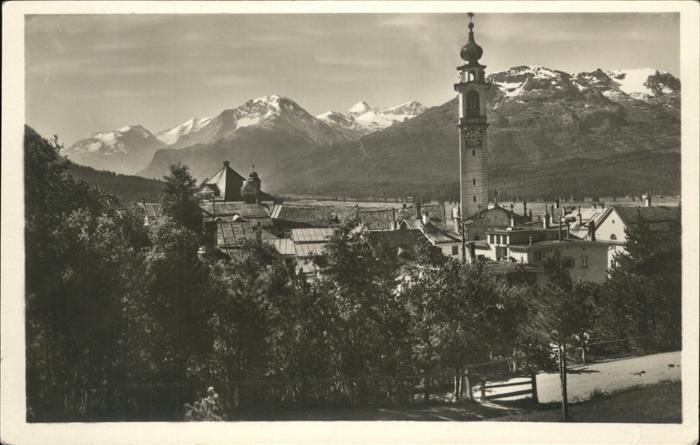 Samaden Berninagruppe Kat. Maloja