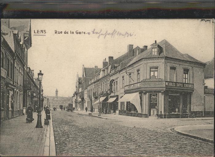 Lens Avion Rue de la Gare