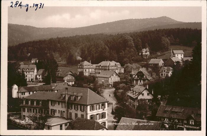 Le Hohwald Vue generale / Le Hohwald /Arrond. de Selestat-Erstein