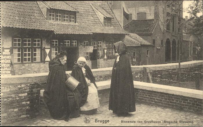 Brugge Binnenste van Gruuthuuse *