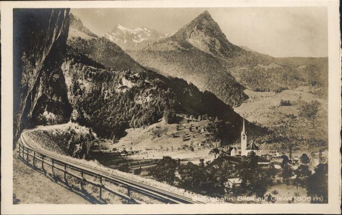 Giswil Bruenigbahn