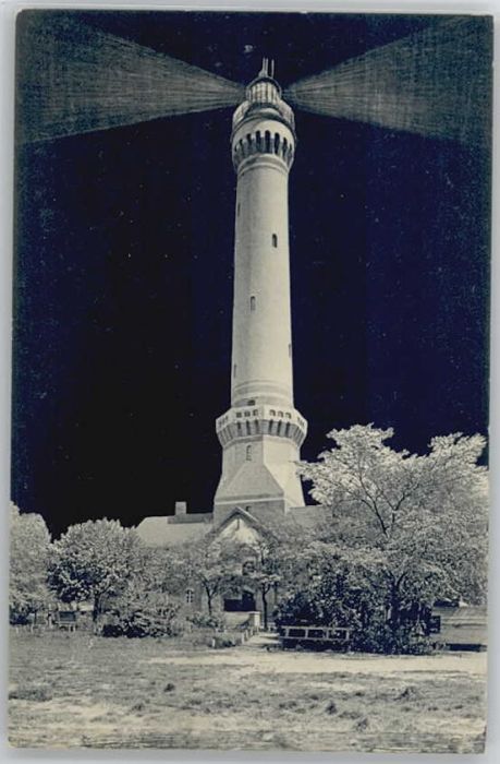 Swinemuende Ostseebad Westpommern Swinemuende Leuchtturm * / Swinoujscie /