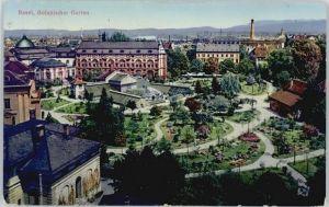 Basel Botanischer Garten x