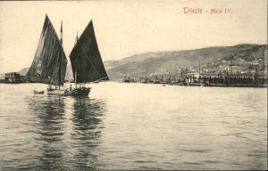 Trieste Molo Segelboot / Trieste /