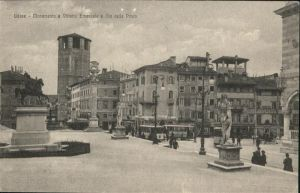 Udine Monumento Vittorio Emanuele della Posta  / Udine /