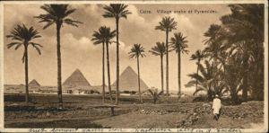 Kairo Caire Pyramides / Aegypten /