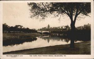 Melbourne Victoria Yarra Princes Bridge / Melbourne /