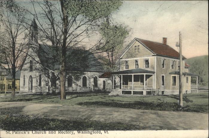 Wallingford Vermont St Patricks Church Rectory / Wallingford /