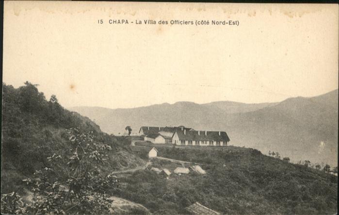 Chapa Villa des Officiers Cote Nord Est / Guinea Bissau /