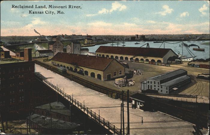 Kansas City Missouri Missouri River / Kansas City /