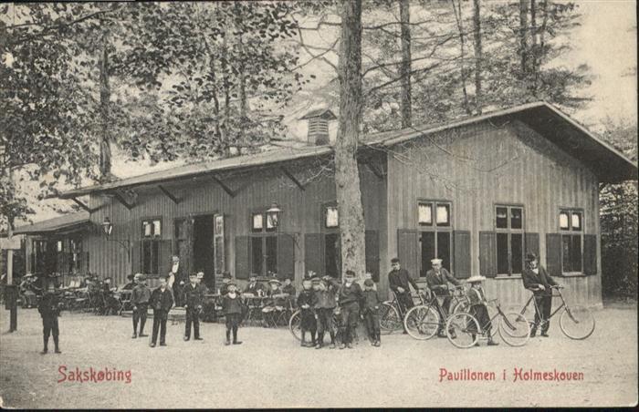 Sakskobing Pavillonen Holmeskoven Fahrrad / Daenemark /
