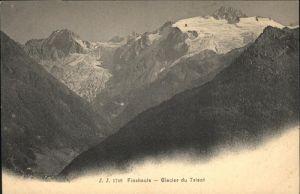 Finhaut Glacier du Trient / Finhaut /Bz. Saint-Maurice