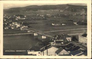 Braunau Inn Oberoesterreich Simbach Bruecke / Braunau am Inn /Innviertel