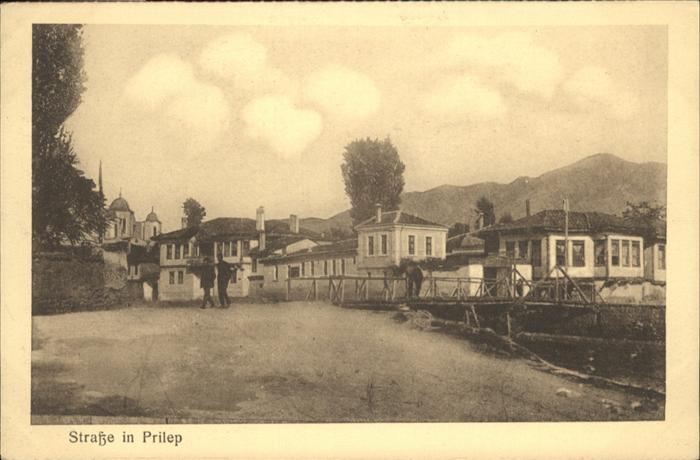 Prilep Strasse / Mazedonien /