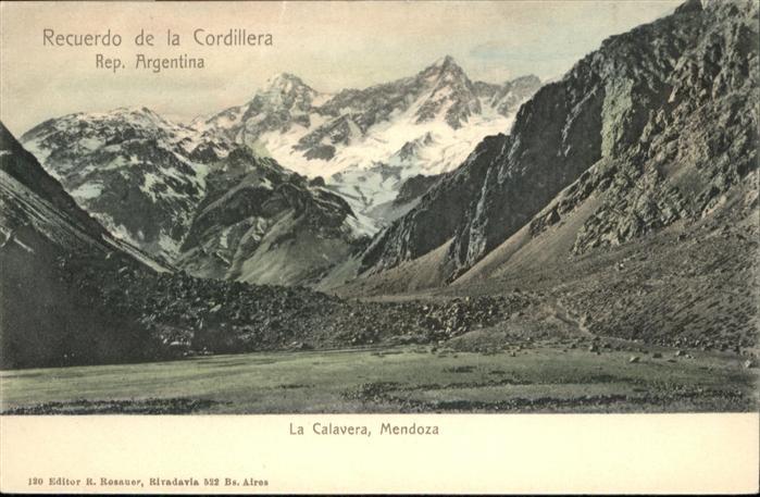 Mendoza Calavera / Mendoza /