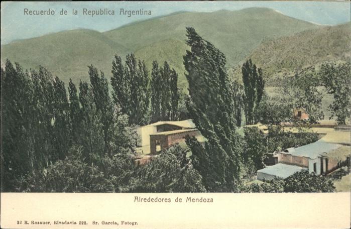 Mendoza Alrededores / Mendoza /