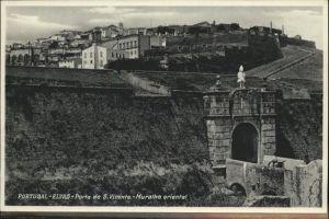 Elvas Porta S Vicente Muralha oriental / Elvas /