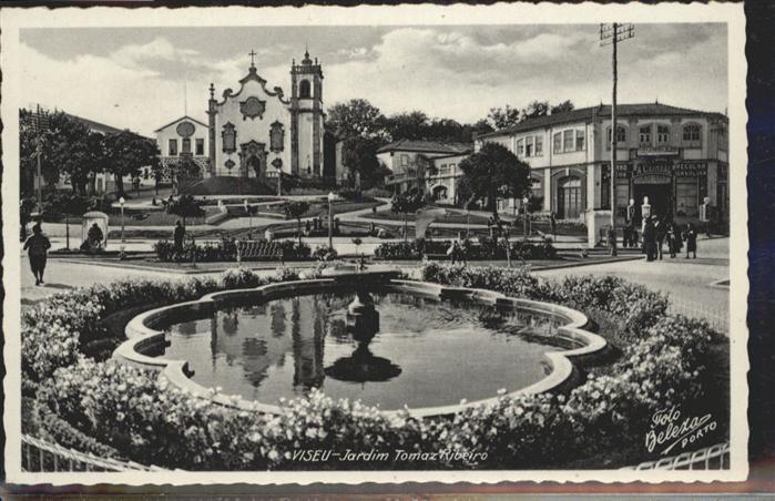 Viseu Jardim Tomaz Ribeiro Brunnen / Viseu /