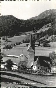 Zell Pfarre Kaernten Karawanken Kirche / Oesterreich /