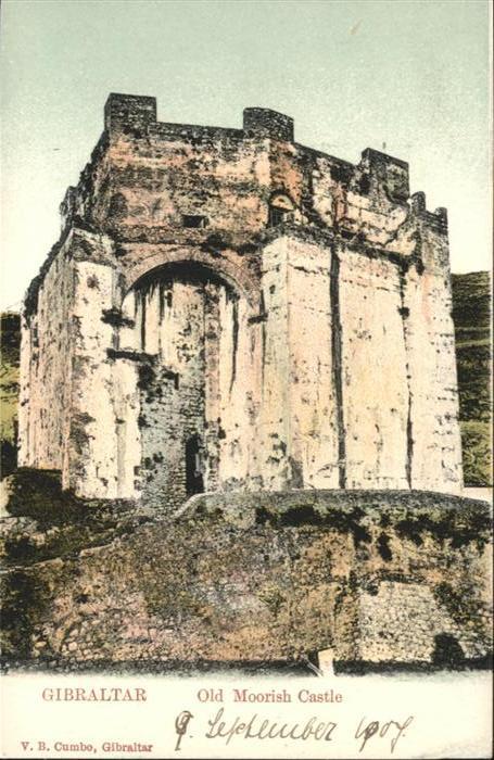 Gibraltar Old Moorish Castle / Gibraltar /