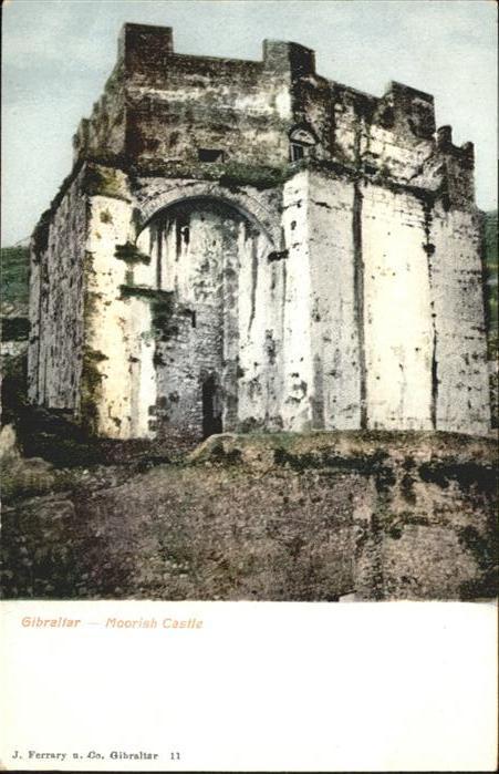 Gibraltar Moorish Castle / Gibraltar /