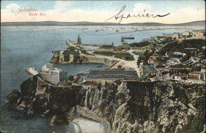 Gibraltar Rosia Bay Schiff / Gibraltar /
