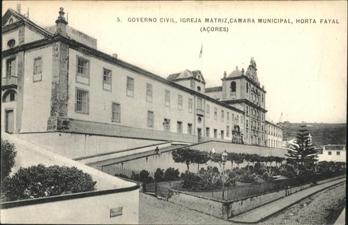 Horta Governo Civil  / Horta /