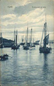 Fiume Trabaccoli in rada Hafen / Kroatien /