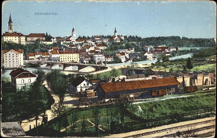 Krainburg Kranj Stadtansiccht / Slowenien /