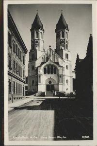 Amstetten Niederoesterreich Herz-Jesu-Kirche / Amstetten /Mostviertel-Eisenwurzen