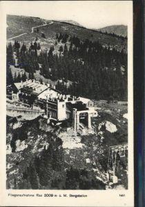 Rax Bergstation Fliegeraufnahme  / Kapellen /oestliche Obersteiermark