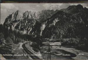 Johnsbach Haltestelle Hochtorgruppe /  /