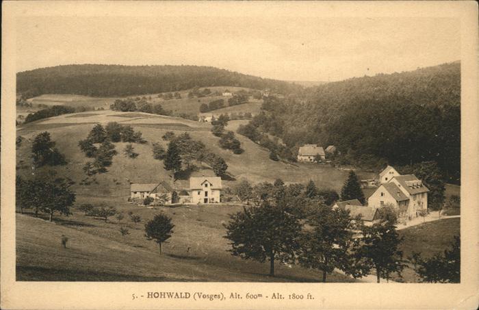 Le Hohwald  / Le Hohwald /Arrond. de Selestat-Erstein