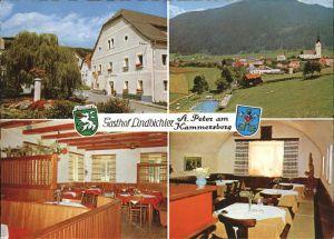 Sankt Peter Kammersberg Gasthof Lindbichler / Sankt Peter am Kammersberg /Westliche Obersteiermark