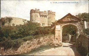 Carisbrooke Isle of Wight Castle / Isle of Wight /Isle of Wight