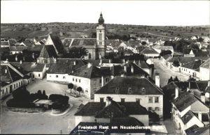 Rust Neusidlersee Burgenland Stadrpanorama / Oesterreich /