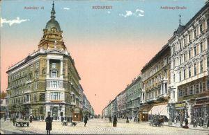 Budapest Andrassy-Strasse / Budapest /
