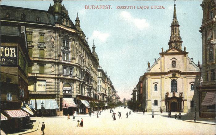 Budapest Kossuth Lajos Utcza / Budapest / 0
