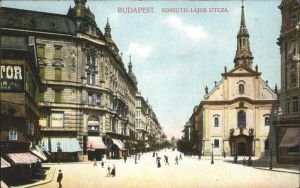 Budapest Kossuth Lajos Utcza / Budapest /