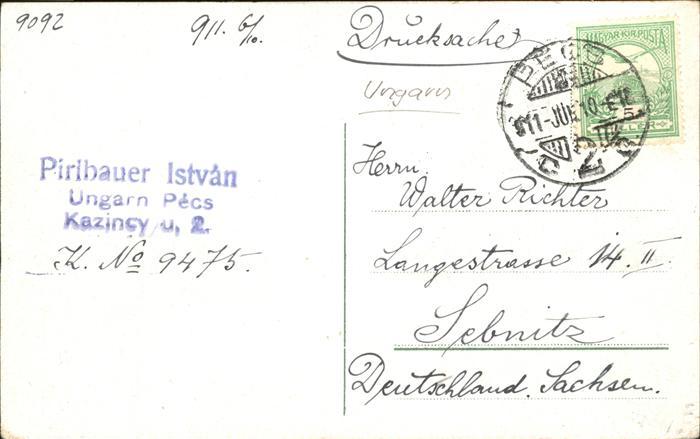 Budapest Kossuth Lajos Utcza / Budapest / 1